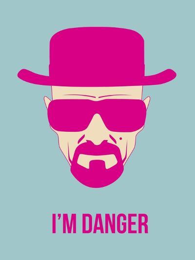 I'm Danger Poster 2-Anna Malkin-Art Print