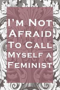 I'm Not Afraid to Call Myself a Feminist