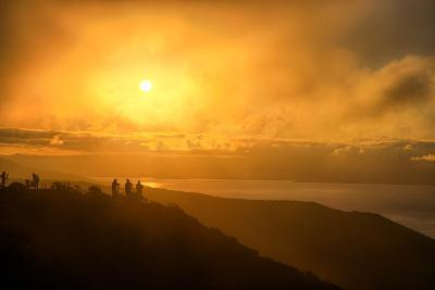 I'm On Fire, Misty Sun at Marin Headlands, San Francisco-Vincent James-Photographic Print