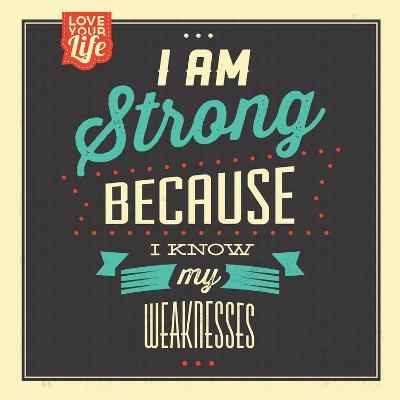 I'm Strong-Lorand Okos-Art Print