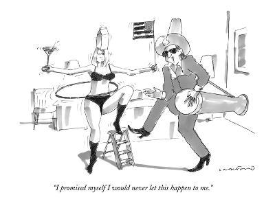 """I promised myself I would never let this happen to me."" - New Yorker Cartoon-Michael Crawford-Premium Giclee Print"