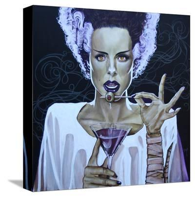 I Put A Spell On You-Mike Bell-Stretched Canvas Print