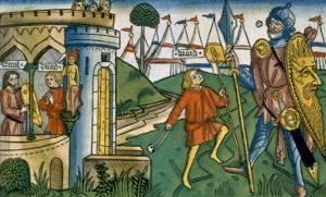 I Samuel 17:1-58 David Defeats Goliath and Meets Saul