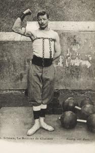 I. Slimen, Le briseur de chaines,  leveur de poids