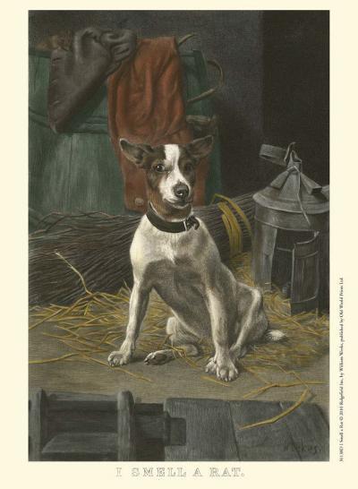 I Smell a Rat-William Weeks-Art Print