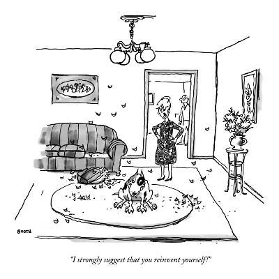 """""""I strongly suggest that you reinvent yourself!"""" - New Yorker Cartoon-George Booth-Premium Giclee Print"""