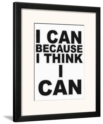 I Think I Can-Taylor Greene-Framed Art Print