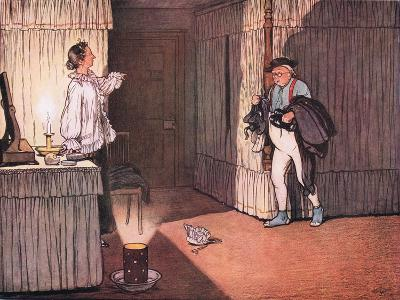 "I Trust Ma'Am, Resumed Mr Pickwick, That My Unblemished Character and..""-Cecil Aldin-Giclee Print"