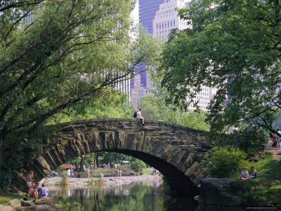 The Pond, Central Park, New York, USA