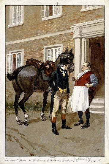 I'Ve Heard There's No Holding of These Methodisses-Gordon Frederick Browne-Giclee Print