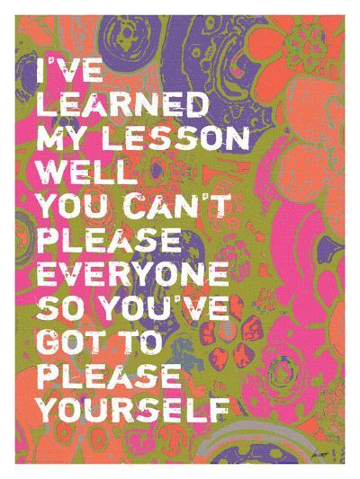 I've Learned-Lisa Weedn-Giclee Print