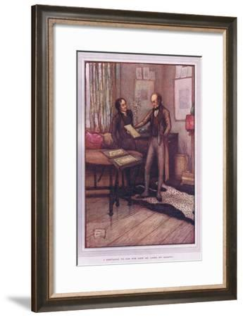 I Ventured to Ask Him How He Liked My Beauty-Sybil Tawse-Framed Giclee Print