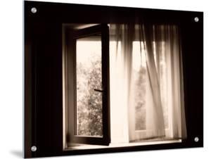 Mysterious Open Window by I.W.