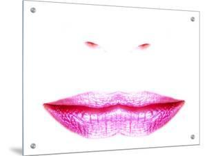 Womans Lips, Double Image by I.W.