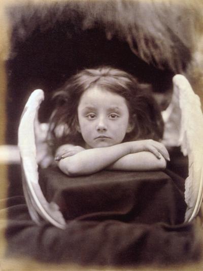 I Wait (Rachel Gurney as an Angel), 1872-Julia Margaret Cameron-Photographic Print