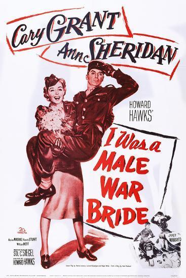 I Was a Male War Bride--Art Print
