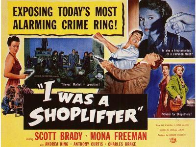 I Was a Shoplifter, 1950--Art Print