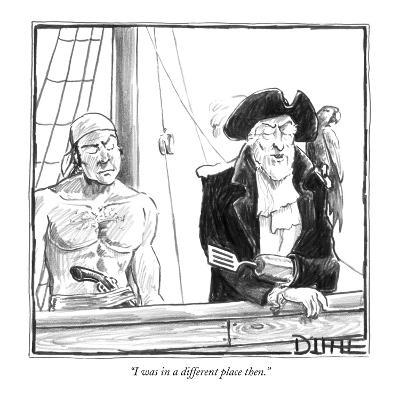 """""""I was in a different place then."""" - New Yorker Cartoon-Matthew Diffee-Premium Giclee Print"""