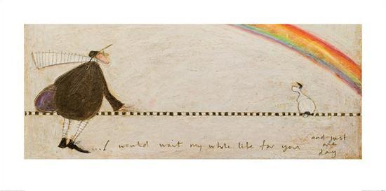 I Would Wait My Whole Life For You-Sam Toft-Art Print