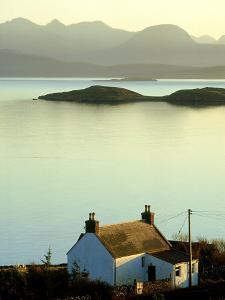 Cottage in Late Evening, Achiltibuie, Scotland by Iain Sarjeant