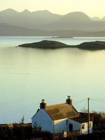 Cottage in Late Evening, Achiltibuie, Scotland