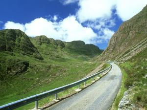 Mountain Road, Western Ross-Shire, Scotland by Iain Sarjeant