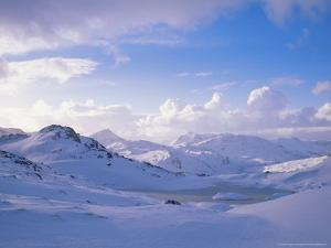 Mountains in Winter, Ross-Shire by Iain Sarjeant