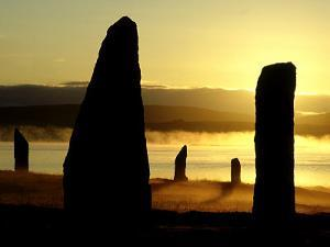 Ring of Brodgar at Dawn, Scotland by Iain Sarjeant