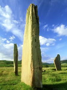 Stone Circle, Arran, Scotland by Iain Sarjeant