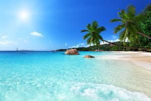 Anse Lazio Beach at Praslin Island, Seychelles by Iakov Kalinin