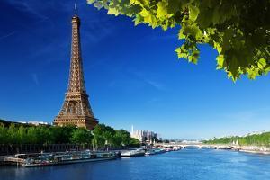 Eiffel Tower, Paris. France by Iakov Kalinin