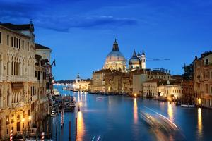 Grand Canal and Basilica Santa Maria Della Salute, Venice, Italy by Iakov Kalinin