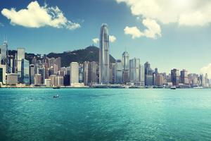Hong Kong Harbour by Iakov Kalinin