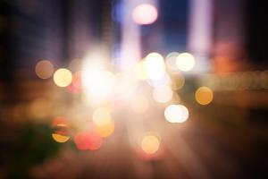 Night Lights of the Hong Kong by Iakov Kalinin