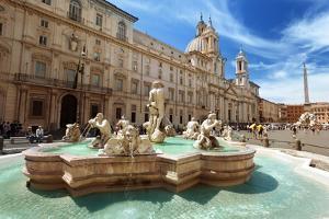 Piazza Navona, Rome. Italy by Iakov Kalinin