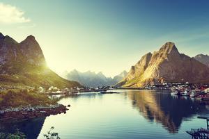 Reine Village, Lofoten Islands, Norway by Iakov Kalinin