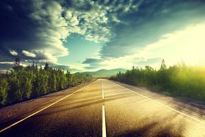 Road in Mountains by Iakov Kalinin