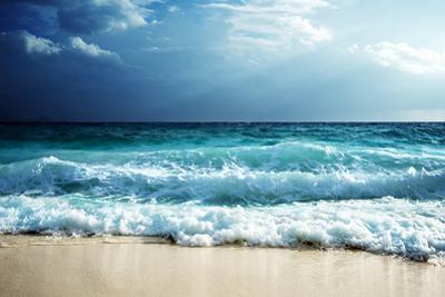 Waves at Seychelles Beach by Iakov Kalinin