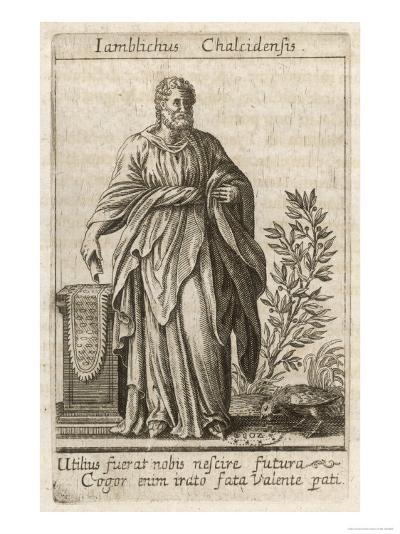 Iamblichus Syrian Neoplatonist Philosopher and Magician--Giclee Print