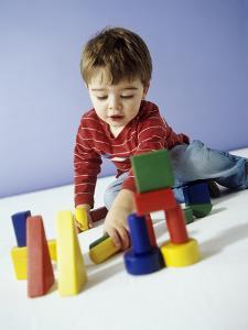 Boy Playing by Ian Boddy