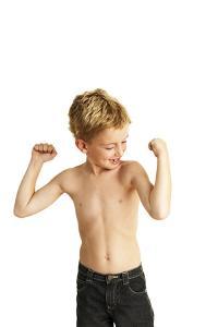 Boy Posing by Ian Boddy