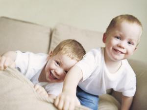 Identical Twin Boys by Ian Boddy