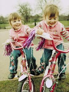 Identical Twin Girls by Ian Boddy