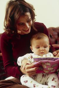 Reading To Baby by Ian Boddy