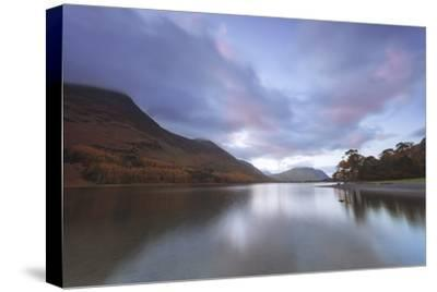 Buttermere at Dusk, Lake District National Park, Cumbria, England, United Kingdom, Europe
