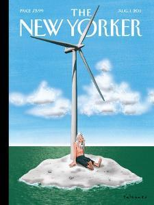 The New Yorker Cover - August 1, 2011 by Ian Falconer