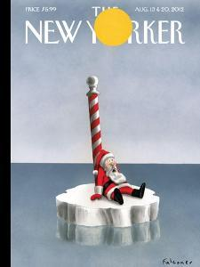 The New Yorker Cover - August 13, 2012 by Ian Falconer