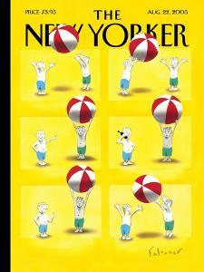 The New Yorker Cover - August 22, 2005 by Ian Falconer