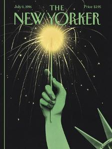 The New Yorker Cover - July 8, 1996 by Ian Falconer