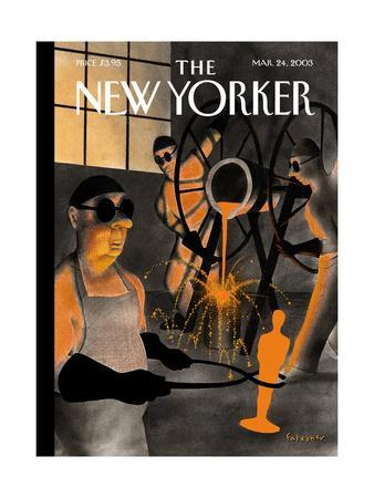 The New Yorker Cover - March 24, 2003